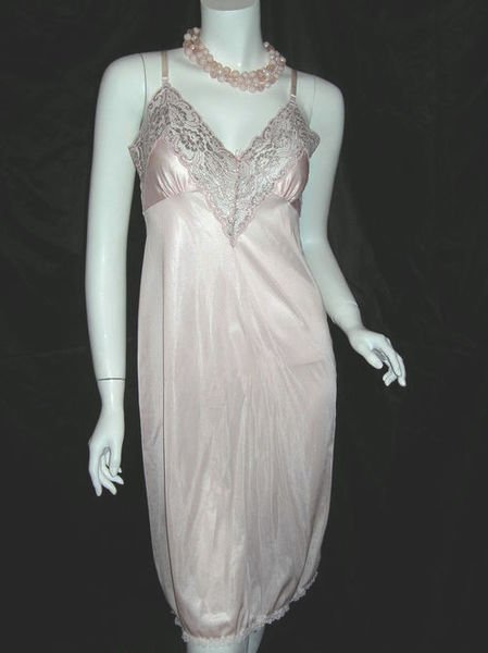 Classic Slip with Lace Trim
