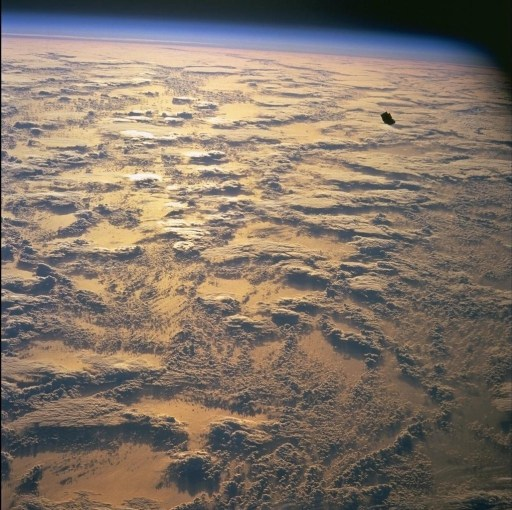 Black Knight was photographed by American astronauts.