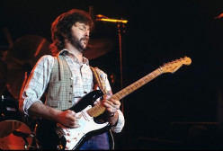 Eric Clapton and the Fender Eric Clapton Stratocaster