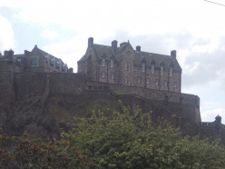 Edinburgh  Castle and Sir Tom Jones