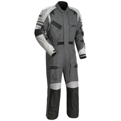 Here is a sample of a waterproof  full-length motorcycle riding suit.