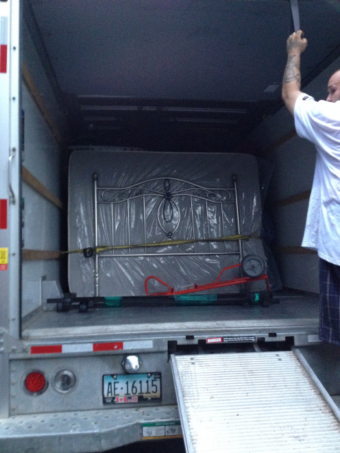 Our Moving Helpers loaded our truck in just 2 hours!