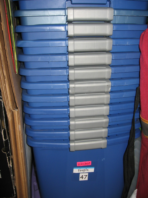 Tubs are durable, reusable, and stack well in storage!