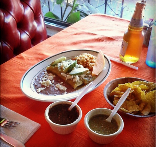 Traditional Guadalajara Mexican Dishes