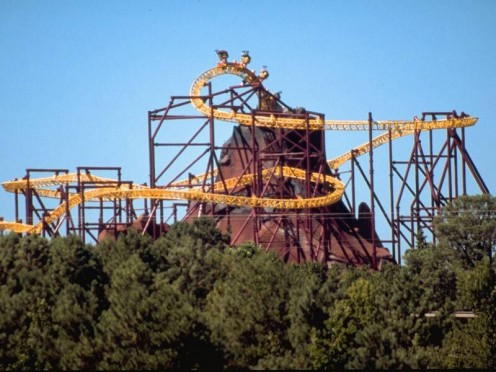 King's Dominion Amusement Park has several thrill rides including a few scary roller coasters.