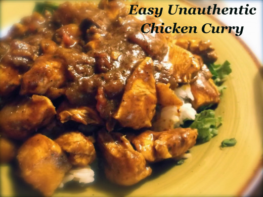 Easy Unauthentic Chicken Curry