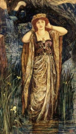 Guinevere (The Leicester Galleries loans to The Speed Art Museum)