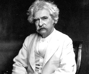 Mark Twain - Famous Wise Person