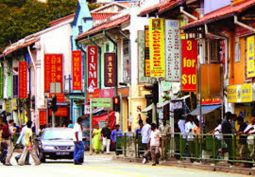 Serangoon Road, Little India of Singapore