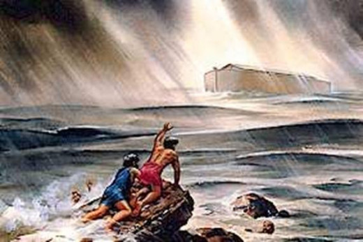 All but Noah and his Family perished in the great flood