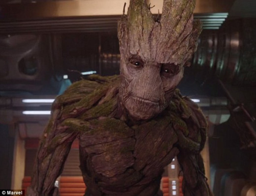 I am Groot. Groot I am. I am Groot I am, I am.