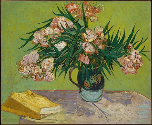 Oleanders     Vincent van Gogh (Dutch, Zundert 1853–1890 Auvers-sur-Oise)