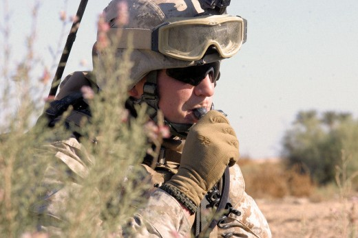 Hydration packs are widely used in the military