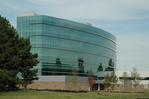 Nabholtz was the main contractor on this building project, It is a beautiful building over- looking the Arkansas River.