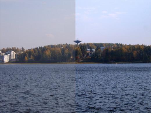 Natural Photo vs Retouched Photo