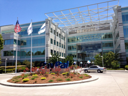 Headquarters of PayPal. 2211 N First St, San Jose, California, USA.