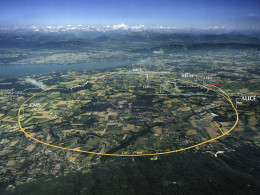 CERN Aerial View, Large Hedrone Collider