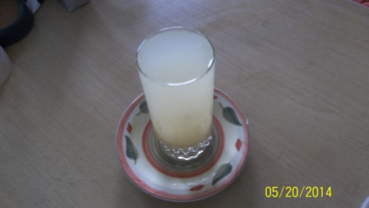 A Glass Of Lime Juice