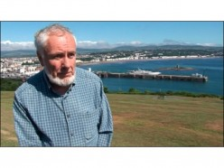 Brian Stowell, highly acclaimed linguist, who single-handedly has revived the Manx language on the Isle of Man.
