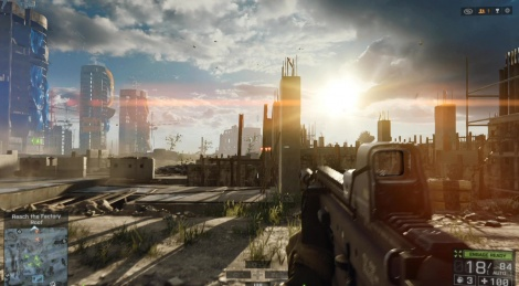 Battlefield 4 features as one of the games for digital download in 'The Vault'