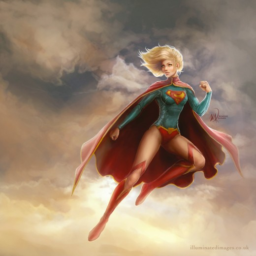 Kara Zor-El has she appears in her most recent run in the New 52.
