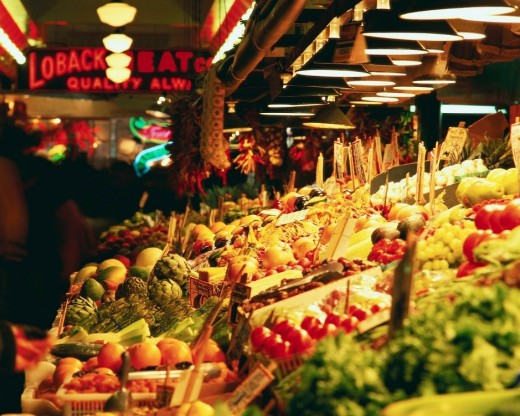 Don't overspend at the supermarket! Make a list before you go to keep you on track!