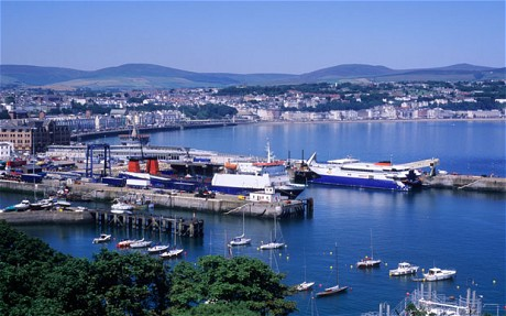 Douglas Harbour Port and town