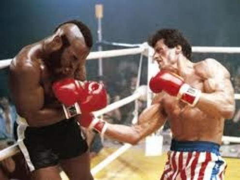 Rocky lost the first fight to Clubber Lang but won the rematch dramatically.