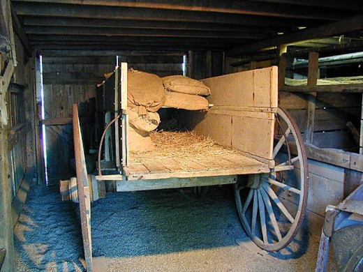 False Bottom Wagon Used to Transport Fugitive Slaves