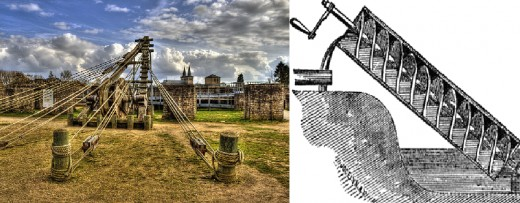 Two ancient inventions of ingenious design showing that the ancients were capable of more than we give them credit for, see also: http://en.wikipedia.org/wiki/Hero_of_Alexandria