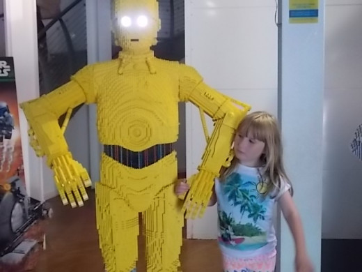 My Daughter and C3P0