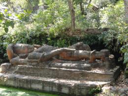 Sesh Shaiyya Vishnu Idol Bandhavgarh