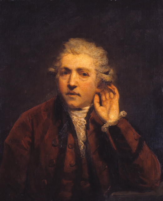 Sir Joshua Reynolds - Self-Portrait as a Deaf Man