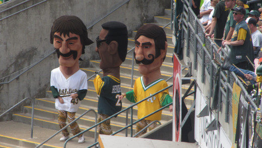 Oakland's colorful and friendly mascots