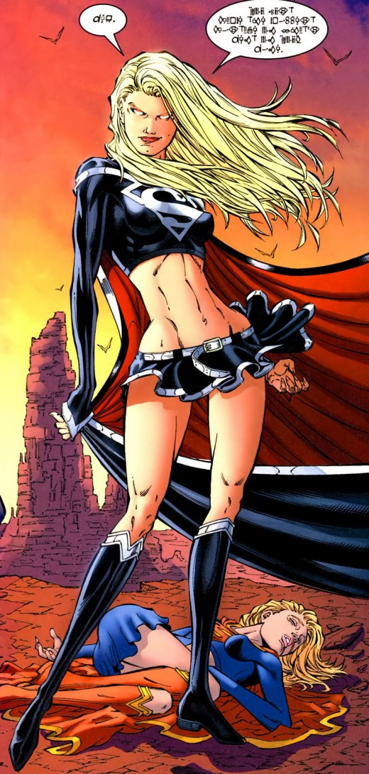 A dark immersion of the girl of steel.