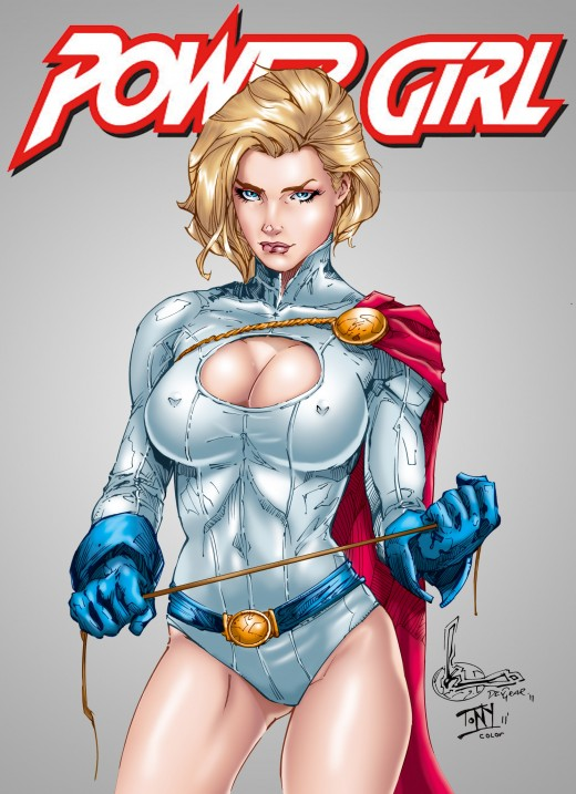 Supergirl from another time.