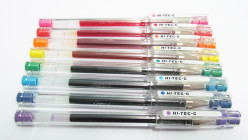 Best Ballpens? Review of Pilot Hi-Tec-C 0.4 Gel Pens