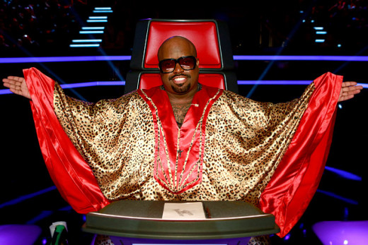 CeeLo Green on 'The Voice'.