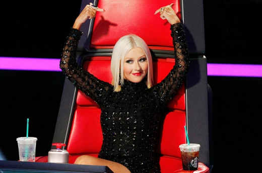 Xtina on 'The Voice'