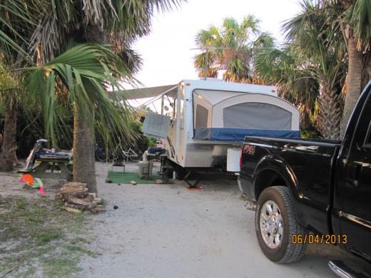 Campsite # 36 in Gulf Breeze