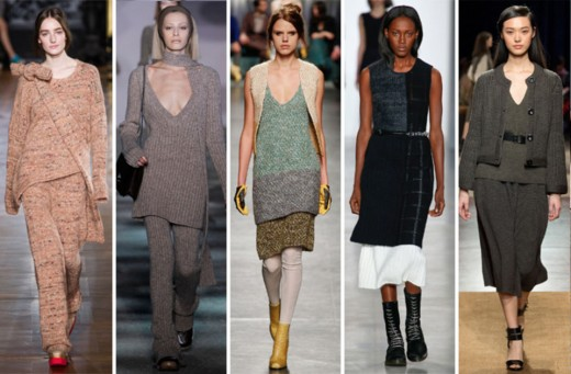 From left: Stella McCartney, Marc Jacobs, Missoni, Calvin Klein and Hermès.