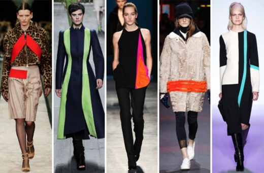 From left: Givenchy, Vionnet, Altuzarra, Moncler Gamme Rouge and BCBG Max Azria.