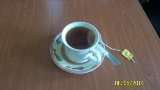 A Cup Of Black Tea