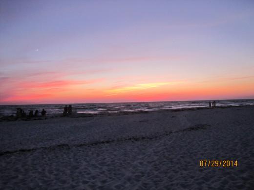 Glorious Sunset at Cape San Blas, FL