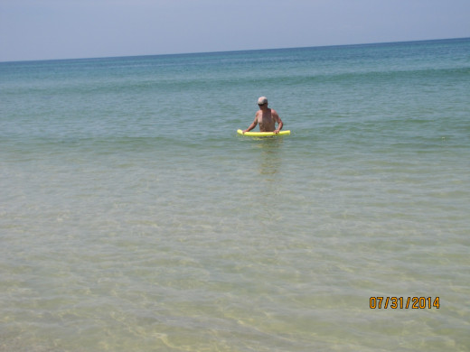 Playing in the Gulf!