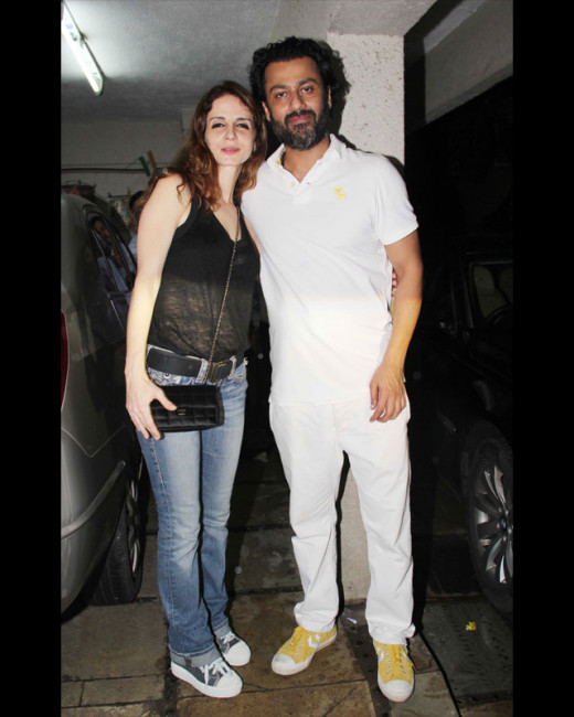 Kai Po Che director Abhishek Kapoor threw a bash on his birthday yesterday. The director is all set for his next release, Fitoor.
