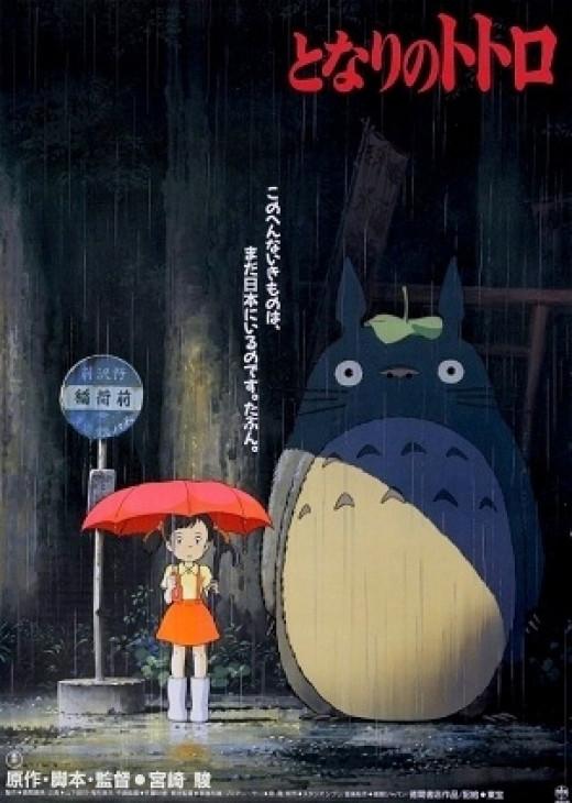 Movie Poster for My Neighbor Totoro