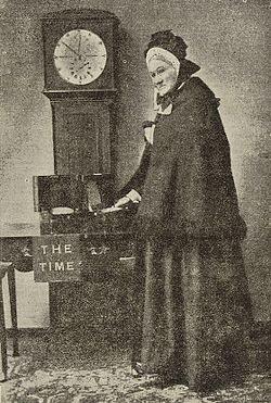Maria Belleville who sold Londoners Greenwich time.