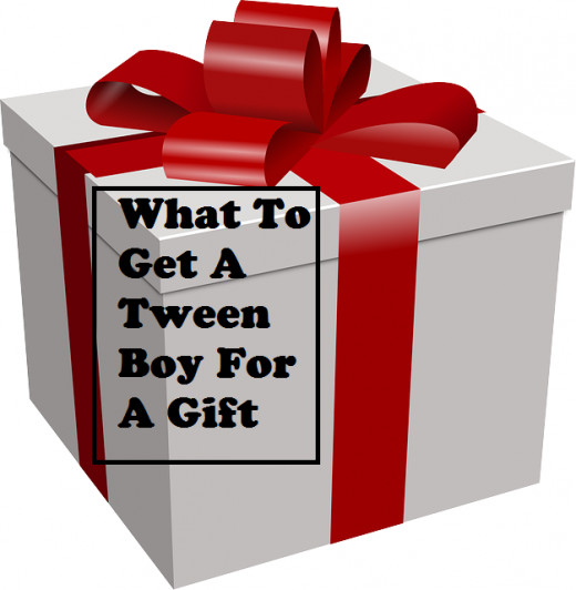 What kinds of gifts are good for boys around the age of 8 until early teens?