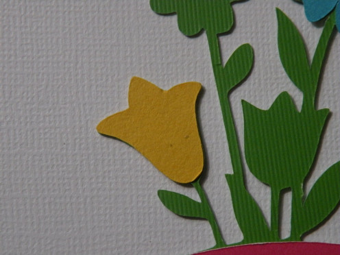 Adhere Yellow large tulip